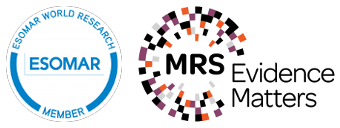 We are member and partner of ESOMAR and MRS